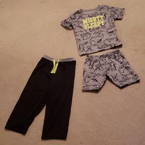 Carter's Toddler Boy 4T 3PC Pajama Set